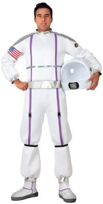 Atosa-17273 Disfraz Astronauta, color blanco, M-L (17273): Amazon ...