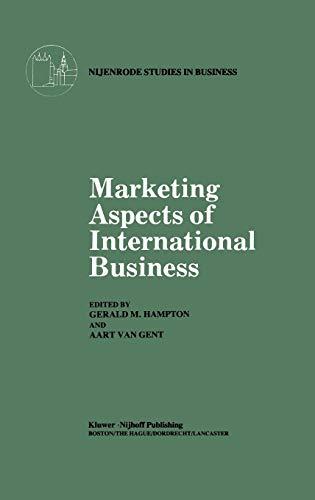Marketing Aspects of International Business (Nijenrode Studies in Business)