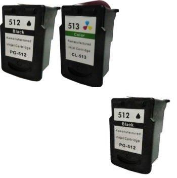 Prestige Cartridge 2 XL Compatibles PG-512 CL-513 Cartuchos de tinta para Canon Pixma iP2700 iP2702 MP230 MP240 MP250 MP260 MP270 MP280 MP480 MP490 ...