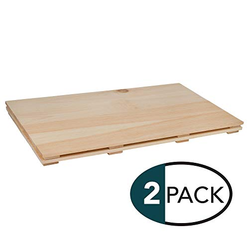 (Natural Wood Finish 24 x 14 Dried Pine Craft Plank Signs Pack of 2)