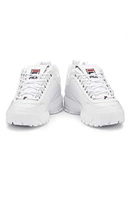 Fila Disruptor II White Trainers fashion sneakers