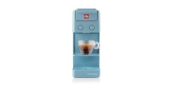 illy Caffè - Cafetera de cápsulas Iperespresso Y3.3, color azul ...
