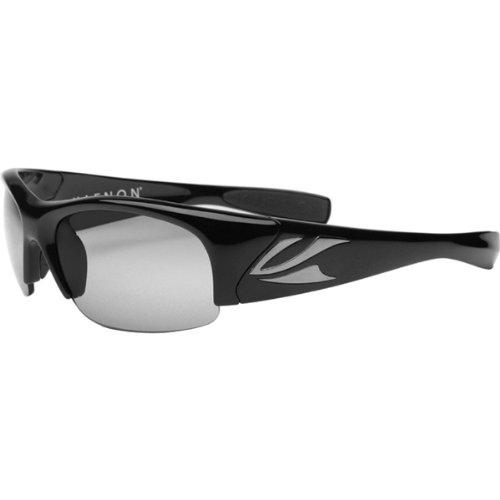 Kaenon Men's Hard Kore Polarized Shield Sunglasses, Black Frame/Grey G28 Lens, 63 - Black Deal Friday Sunglasses