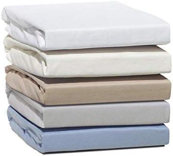 Sábana bajera ajustable de franela, 100% algodón cepillado, para ...