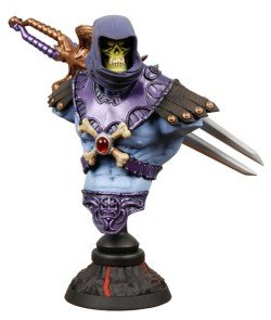 Masters of the Universe Skeletor Bust by NECA
