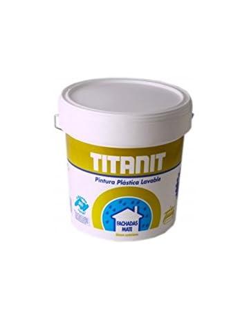 TITAN - PINTURA TITANIT FACHADA BLANCO 4L LAVABLE