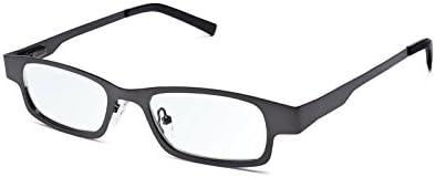 Eyejusters Self Adjustable Glasses Stainless Gunmetal product image