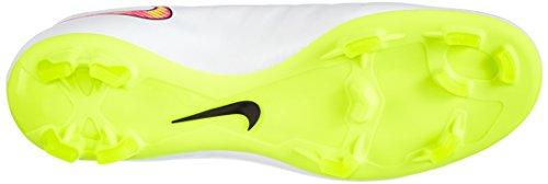 Nike Herren Mercurial Victory IV FG Fußballschuh Weiß / Volt / Hyper Pink / Schwarz