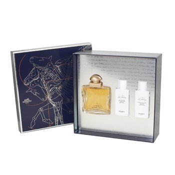 24 FAUBOURG 3 PC. GIFT SET (EAU DE TOILETTE SPRAY 1.6 oz + PERFUMED BODY LOTION 1.35 oz + PERFUMED SHOWER CREAM 1.35 oz) by Hermes for ()