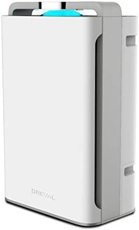 DREVAL D-4850 8 Stage Air Purifier Humidifier- Combo Air Cleaner, True HEPA Filter, for Home, Kitchen, Bedroom, Large Room Capacity, Ozone Free, Super Quiet