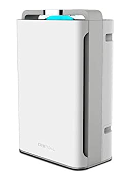 DREVAL D-4850 8 Stage Air Purifier Humidifier True HEPA Super Quiet Large Room Capacity Ozone Free