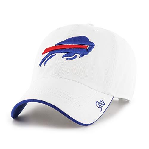 OTS NFL Buffalo Bills Female Accolade Challenger Adjustable Hat, White, (Buffalo Bills White Fan)