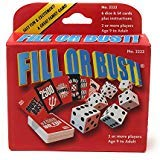 Bowman Games Fill or Bust Great Card and Dice Game (Adults For Dice Games)