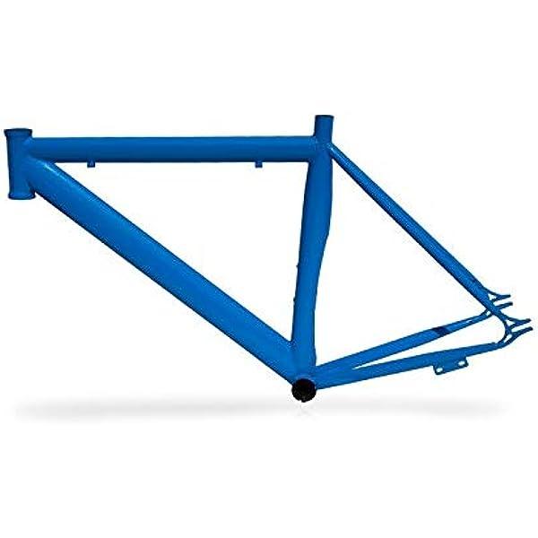 Riscko 001lurb Cuadro Bicicleta Personalizada Fixie Talla Lurb Azul: Amazon.es: Deportes y aire libre