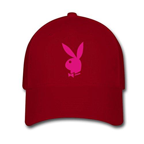BIN Custom Hot Unisex Pink PlayBoy Adjustable Snapback Baseball Cap Trucker (Playboy Womens Cap)