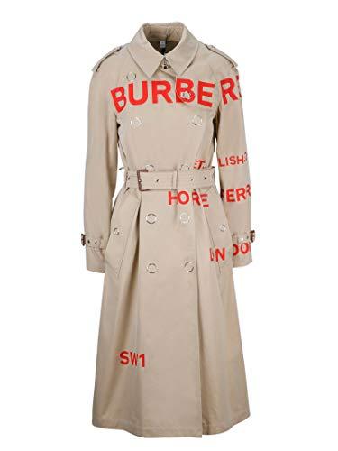 - BURBERRY Women's 8013694 Beige Cotton Trench Coat