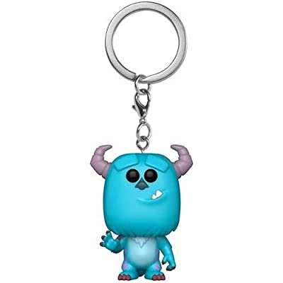 Funko Pop! Keychain: Monsters Inc. - Sulley Collectible Figure, Multicolor: Toys & Games