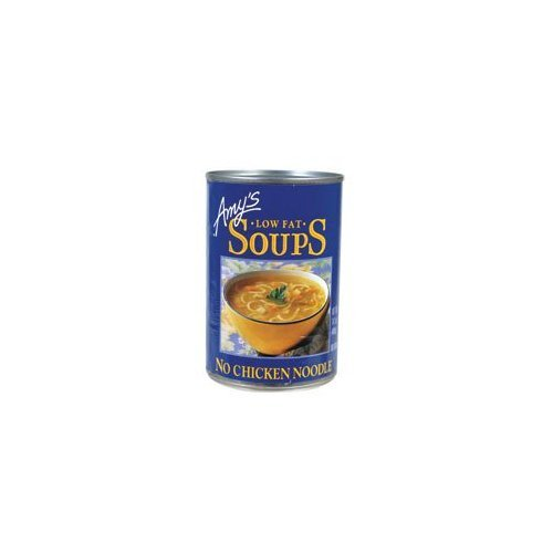 Amy's Kitchen Low Fat No Chicken Noodle Soup 14.1 OZ (Pack of 3) ()