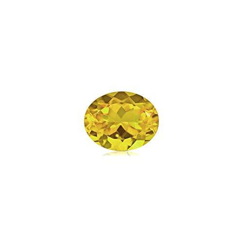 Mysticdrop 1.53-1.86 Cts of 9x7 mm AA Oval Yellow Beryl (1 pc) Loose Gemstone