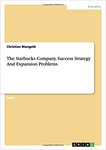 starbucks company strategy