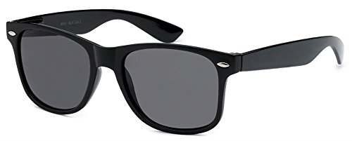 Retro Rewind Black Polarized Sunglasses Vintage - Sos Sunglasses