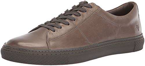 FRYE Men's Essex Low Folded Edge Sneaker, Dark Grey, 11.5M M US