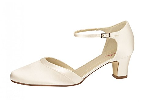 Avorio donna Avorio tacco Elsa Coloured Shoes col Avorio Scarpe XCqXU8xwp