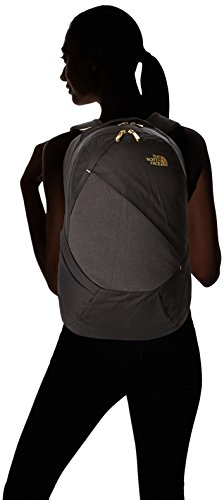 hot sale online eb9dd 613a1 The North Face Women s Isabella Backpack TNF Black Heather 24k Gold One  Size  Amazon.in  Clothing   Accessories
