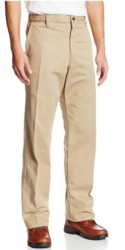 Dickies Men's Flame Resistant Twill Pant, Khaki, (Fr Twill Pants)