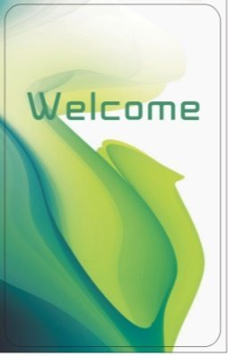 RFID Key Card GENERIC PVC CARD 1K 13.56 MHZ RFID key card GREEN