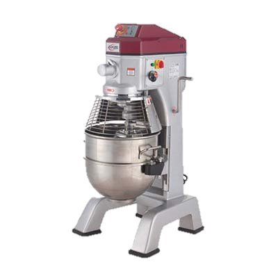 MVP Group Stainless Steel Electric Floor Model 40 Quart Axis Planetary Mixer ()