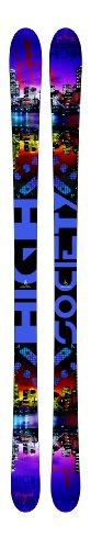 High Society Men's Classic 178 Alpine Ski, 118 x 80 x 106mm