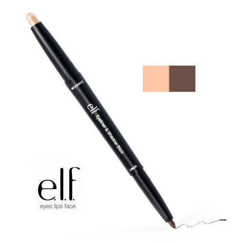 2 Pack e.l.f. Cosmetics Studio Eyeliner & Shadow Stick 81103 Brown / Basic by e.l.f. Cosmetics