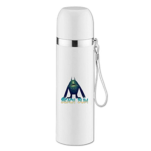 Caryonom Beach Bum Insulated Water Bottle Travel Mug Vacuum Cup For Office (Bum Bum Trousers)