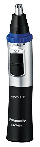 Panasonic ER-GN30-K MENS NOSE EAR HAIR TRIMMER WI, 7.00in. x 4.25in. x 2.25in. (Best Nasal Hair Trimmer Uk)