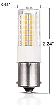 directly replacement for Tail Stop Brake Cool White 2-Pack Works on 12V/&24V Reverse Automotive Light Bulbs Makergroup 1157 BAY15D LED Light Bulbs