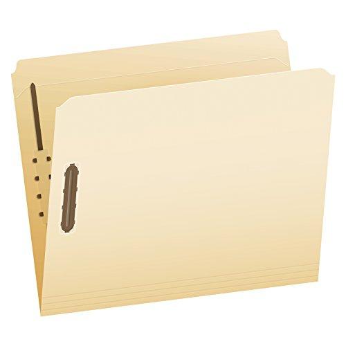 Bx Manila - Pendaflex Manila Fastener Folders, Letter Size, 2 Fasteners, Straight Cut, 50/BX (FM212)
