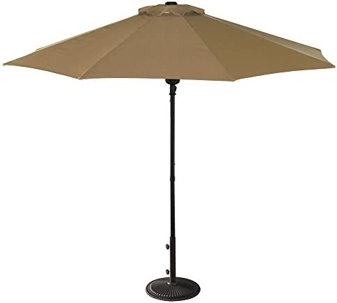 Island Umbrella NU5419ST Cabo Market Umbrella