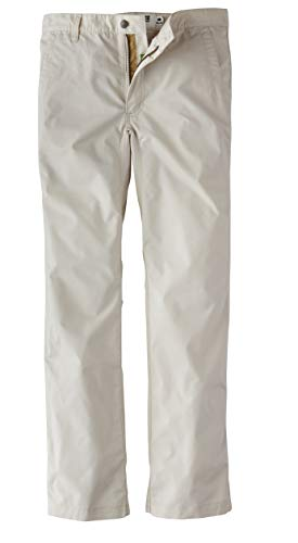 Mens Poplin Pants - Mountain Khakis Men's Stretch Poplin Pants Slim Fit Oatmeal 44 30
