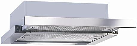 UNIVERSALBLUE - Campana Extractora Extraible 60cm - Color Acero INOX - Eficiencia Energética C: Amazon.es: Grandes electrodomésticos