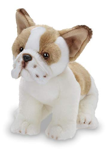 Bearington Collection Frenchie Plush Stuffed Animal French Bulldog Puppy Dog, 13 inches -