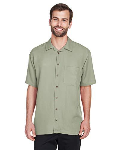 A Product of UltraClub Men's Cabana Breeze Camp Shirt -Bulk Saving