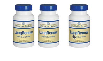 LungRenew | Respiratory Support Formula All-Natural Lung Supplement Addresses Age-Related Breathing Issues and Promotes Clean Healthy Lungs for More Energy| Herbal Lung Cleanse | 90 Day Supply by Worldwide Herbals (Image #2)