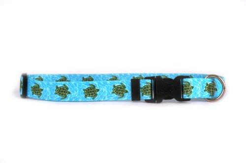 Yellow Dog Design Standard Collar, Sea Turtle, Size Cat