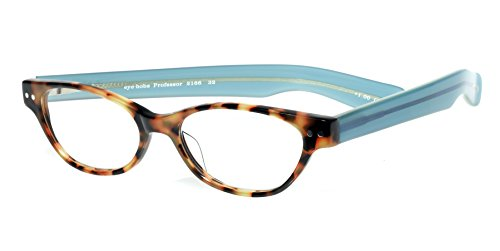 eyebobs Professor, 2166 32, Tortoise and Aqua Reading Glasses - Multiple Magnifications