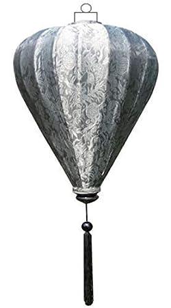 Vietnamese Oriental Silk Bamboo HANDGEFERTIGTE Laterne LAMPEN Chinesisch gr/ün 14