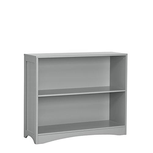 RiverRidge 02-148 Horizontal Bookcase, Gray (Bookshelf Blue Navy)