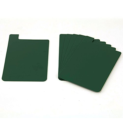 (Heavy Duty Plastic Shelf Markers-Green-6/pkg)
