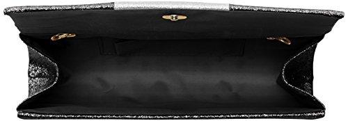 Block Color Jem Pochettes Sparkle Noir Black Swankyswans fq8wpBx