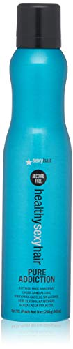 - SEXYHAIR Healthy Pure Addiction No Alcohol Hairspray, 9 oz